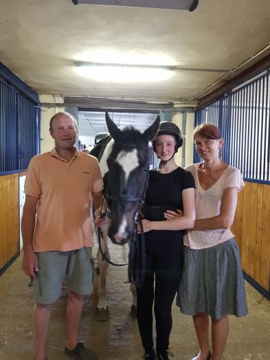 Krzysztof, Elvis, Amelia and Zuzanna